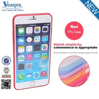Veaqee 0.3mm cheap slim ultra thin transparent clear tpu mobile phone case for iphone 6