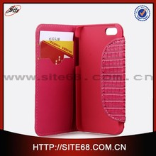 Fashion woman wallet card-slot pu leather cell mobile phone case for 5G