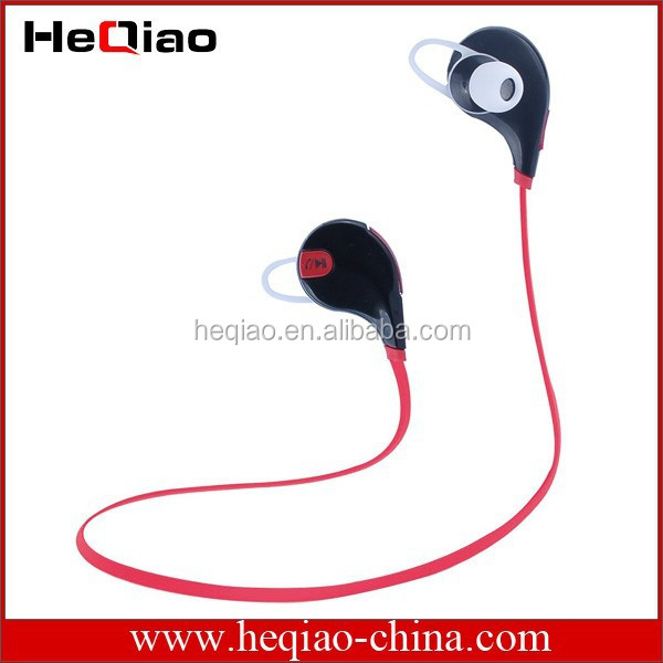 wireless stereo mini sport bluetooth headset connecting two mobile phones qcy. Black Bedroom Furniture Sets. Home Design Ideas