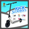 Wholesale Air Pump Tyre Wheel Dirt Scooter, Pro Kick Scooter, Custom Stunt Scooters For Adults