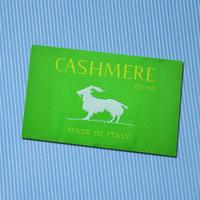Standard make up clear organic cotton printed label custom woven label for women clothing made in China