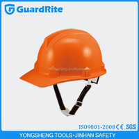GuardRite brand economical type construction safety helmet custom with visor earmuff with modle W-026
