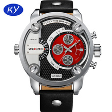 New China brand wrist watches 3 ATM water resistant luxury man Weide automatic watch