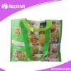 ASD2015A017 AZO Free! PP Woven Customized Laminated Printing Heavy duty Tote Shopping Bag