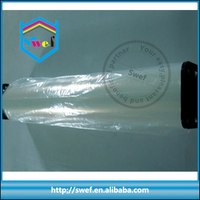 plastic printing film with sandy surface for inkjet screen printing