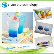 Gardenia fruit extract Gardenia blue colorant powder for food and beverage