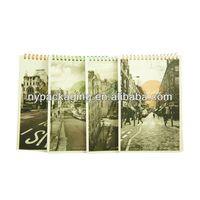 scenery printing Organizer/2015 new products notebook/scenery printing notebook school supply