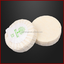 Competitive promotional round shape disposable soap for hotel