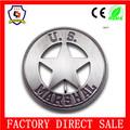 Personalizado cosecha alrededor de estrellas mariscal nos placa insignia mariscal( hh- badge- 294)