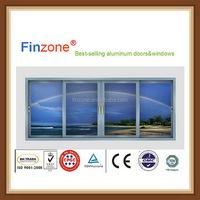 Oem useful residential aluminum sliding windows