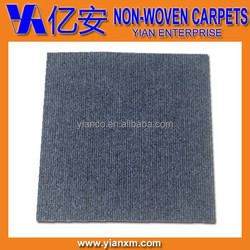 Charcoal adhesive peel and sticker carpet tiles