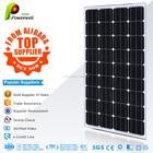 Powerwell Solar produto elétrico mono 100 w painéis solares de alta eficiência