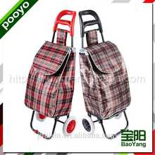 promotional trolley shopping bags indoor white dome