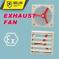 explosion proof sparkless exhaust fan