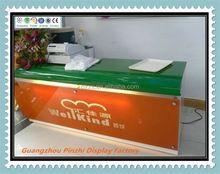 Simple shop counter design store customer service counter H-56