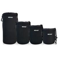 MENGS (S M L XL) Lens Pouch Soft Bag Case for DLSR Camera 14050000501