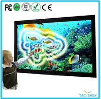 "65"" LED touch interactive touch screen for business and education"