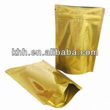 Bolso de empaquetado de la cremallera granola claro papel de aluminio laminado impreso personalizado