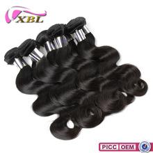 Min order 1pcs 100% virgin human 14 inch remy human hair weft