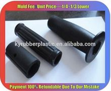Molded Solid Silicone Grip / Comfortable Soft Silicone Handle Manufacturer / Custom Silicone Handle Bar