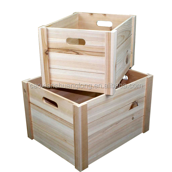 China saupplier fumigation of wood packing crates natural for Buy wooden fruit crates