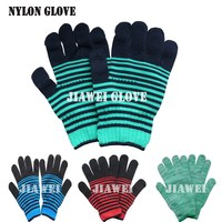 Nylon Gloves Pretty Nylon Gloves Lady Nylon Gloves/Guantes 076