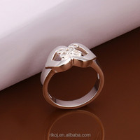 2015 hot Wholesale new product elegant 925 sterling silver bow ring