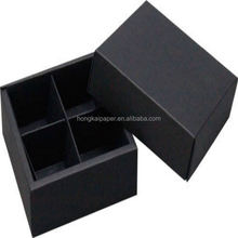 2015 hot sale high quality black card paper for making cartons
