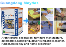 Maydos Low VOC all purpose glue Neoprene contact adhesive for cosntruction and decoration
