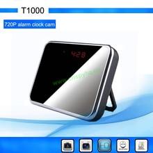 2013 hot selling wireless camera, hidden video digital mirror clock camera,mini wireless HD hidden camera