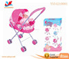 High quality baby doll pram stroller metal toy umbrella doll stroller