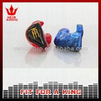 professional earphone in ear headphone cable