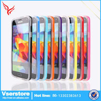 Phone cover for samsung galaxy S5 transparent tpu phone case for Samsung galaxy S5 cell phone accessory