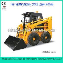 Skid steer loader,Bobcat,skid loader (JC45) with 50hp diesel engine,loading capacIty is 700kg