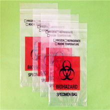 The BioHazard&Medical Specimen Bag with absorption pad inserted with addition pouches for documents.
