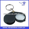 Hot selling top quality promotional led mini magnifying glass with keychain