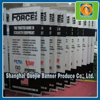 Factory folded roll up banner