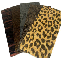 cheap Gold Printed PVC rubber sheet for sale