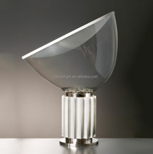 European style fancy aluminum and glass Taccia Lamp table lamp for reading