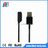 Wholesale smart phone usb data cable,magnetic usb cable for sony Z2,magnetic usb charging cable for sony Z2 Z3 Z1
