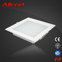 Warm white square led downlight 12w up and down wall light