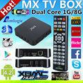 Hot venda de iptv andriod tv caixa android media player iptv andriod arábica iptv receptor de canais de tv, mx android inteligente caixa de tv