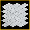 Carrara White Marble Mosaic, Bathroom Wall and Flooring Tile, Kitchen Backsplash