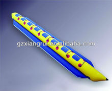 2012PVC high quality Inflatable banana boat /inflatable water toys/water product