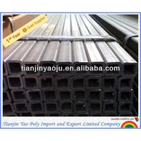 12*12MM Black Square Iron Bending Steel Tubes/Pipes