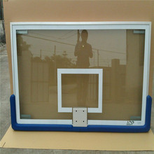 Safety indoor and outdoor tempered glass basketball backboard at great prices