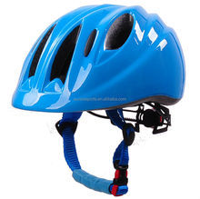 New kid helmet with LED light and patent adjustment, kids bicycle trailer helmet for infant