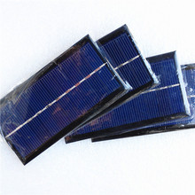 Factory directly supply mini solar panel for sale 5V 300mA 1.5W 125*65mm poly small solar panel,small modules for LED light