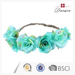 Beautiful Colorful Wholesale Artificial Flower Crown