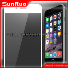 """2.5D curved edge temepred glass color full body protector skin for iphone 6 4.7""""and 5.5"""""""